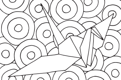 Simple Coloring Sheet